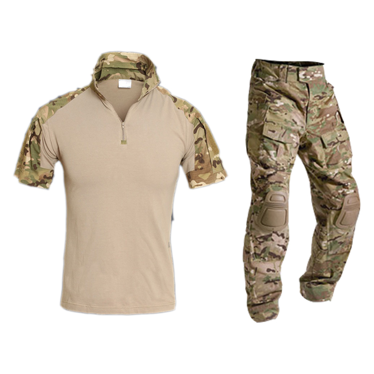 tactical summer multicam camouflage suit