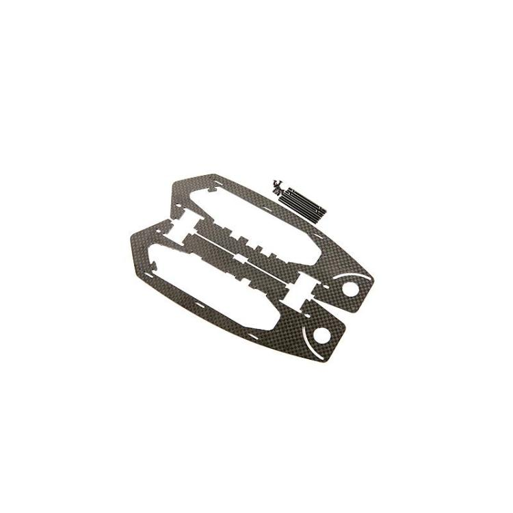 KDS Kylin 250 RC Helicopter Quadcopter spare part Body side board KF-250-15 free shipping(China (Mainland))