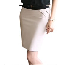 2014 Summer Women High Waist Career Short Skirts Slim Hip Knee-Length Pencil Skirt 4 Colors 22