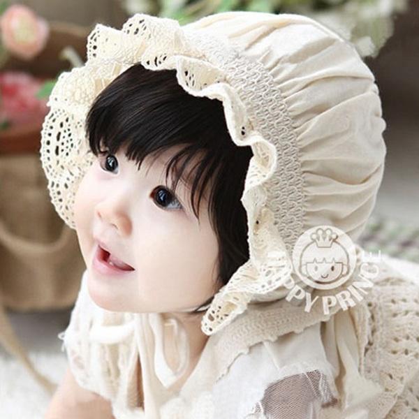High Quality Newborn Baby Girls Cotton Hats Sun Cap Bonnet Infants Toddler Sunhat Beanies 0-8 Month(China (Mainland))