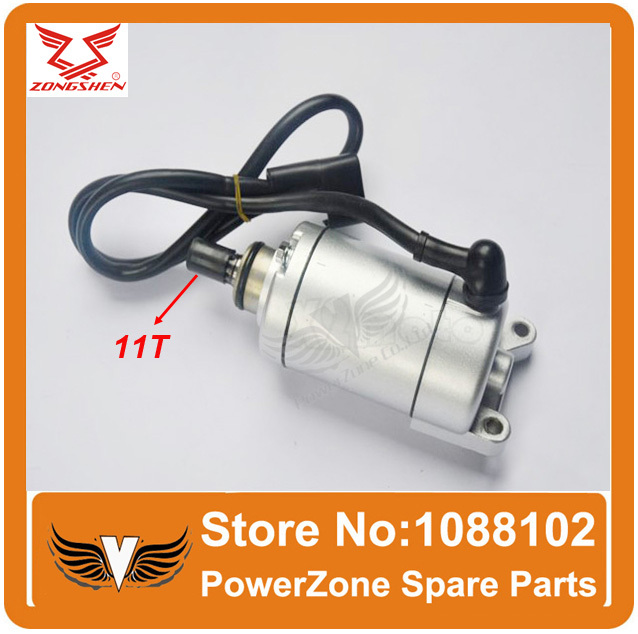 ZONGSHEN CB250 250cc Engine Start Starter Motor Fit To Most Motorcycle Dirtbike ATV Quad Parts Free Shipping(China (Mainland))