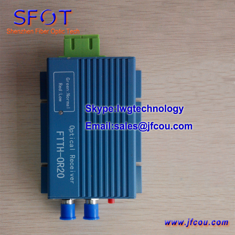 Mini Optical Receiver / FTTH optical receiver / CATV optical node, SFOT-WS-OR20A, Mini node(China (Mainland))