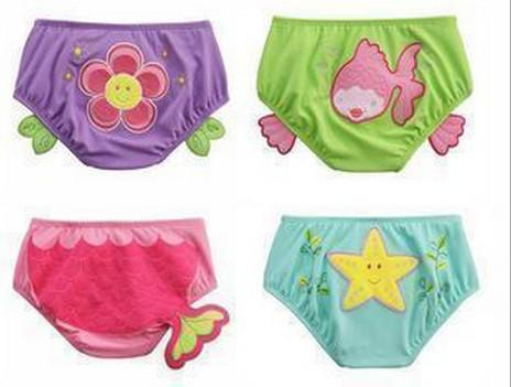 Wholesale - - baby boys girls cartoon swimwear swimming shorts swim critter diaper covers free shipping<br><br>Aliexpress