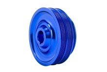 PQY STORE Lightweight Crank Pulley For Honda B16 B18 Engine Civic Accord Blue