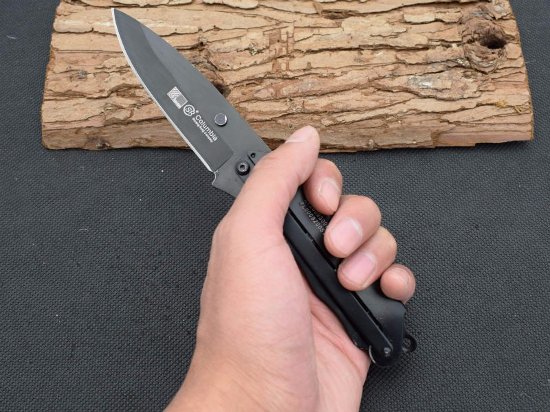 Buy New Survival Knife 420 Steel Blade Steel Handle SR Pocket Fixed Knifes Hunting Tactical Knives Camping Outdoor EDC Tools R24 cheap