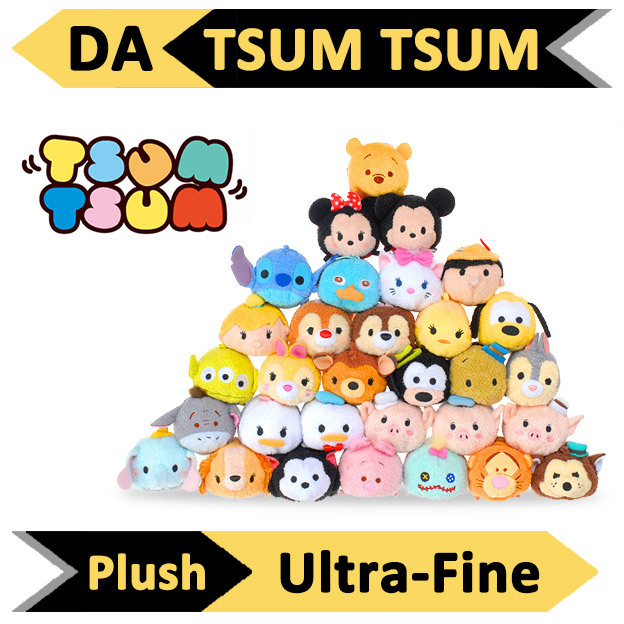 10pcs /lot 3.5'' Tsum Tsum Plush toy Mickey doll Duck toys Cute doll Screen Cleaner for iPhone tsum tsum Plush toy juguetes set(China (Mainland))