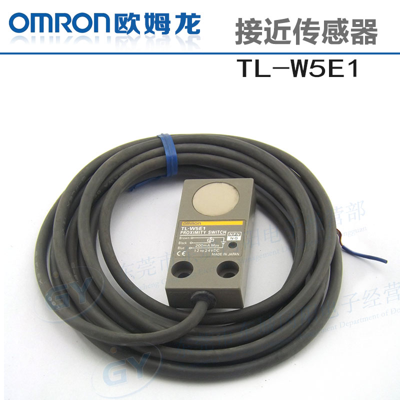 Фотография Authentic Japanese * * proximity switch - three line dc TL - W5E1 metal -s