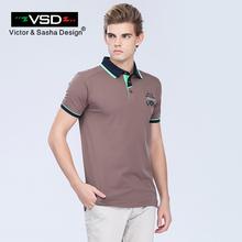 VSD 2017 Summer Ralphmen Crocodile Cotton Camisa Polos Shirts Men Short Sleeve Slim Fit Breathable Famous Brand Men's Homme Y625(China (Mainland))