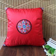 popular red plaid pillows