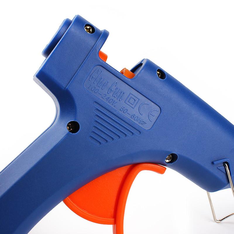 Home Professional High Temp Heater 20W Hot Melt Glue Gun Repair Heat Tools EU Plug With 1pc Glue Stick #KF