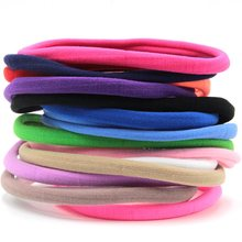 Buy Retail 12pcs/lot 20colors 2017 New Solid Elastic Nylon Headband, Children Headbands,Girls Kids Hairband Hair Accessories for $2.80 in AliExpress store