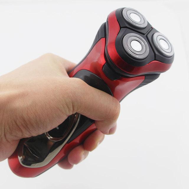 Электробритва человек бритья моющийся бритва за лицом триммер оригинальный 3D лезвия ...