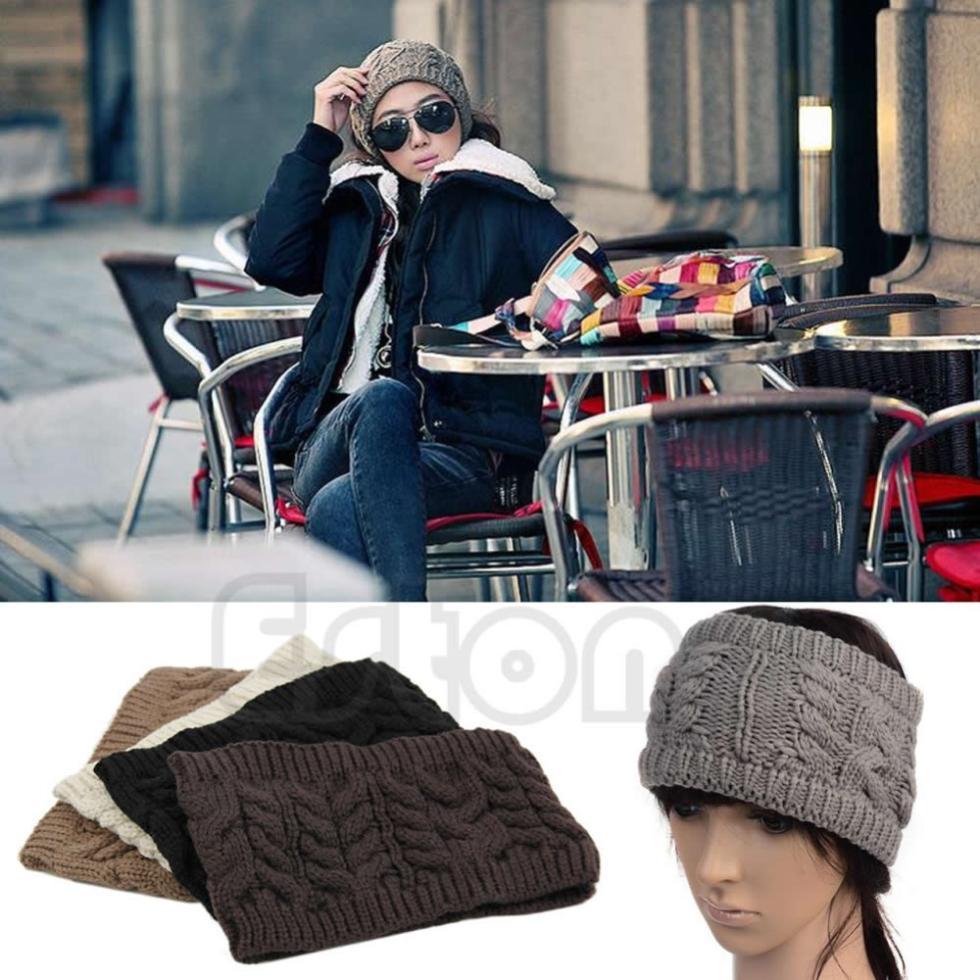 1Pc Chic Women Knitted Empty Skull Beanie Winter Warm Hat Lady Girl Ski Cap HeadBand(China (Mainland))