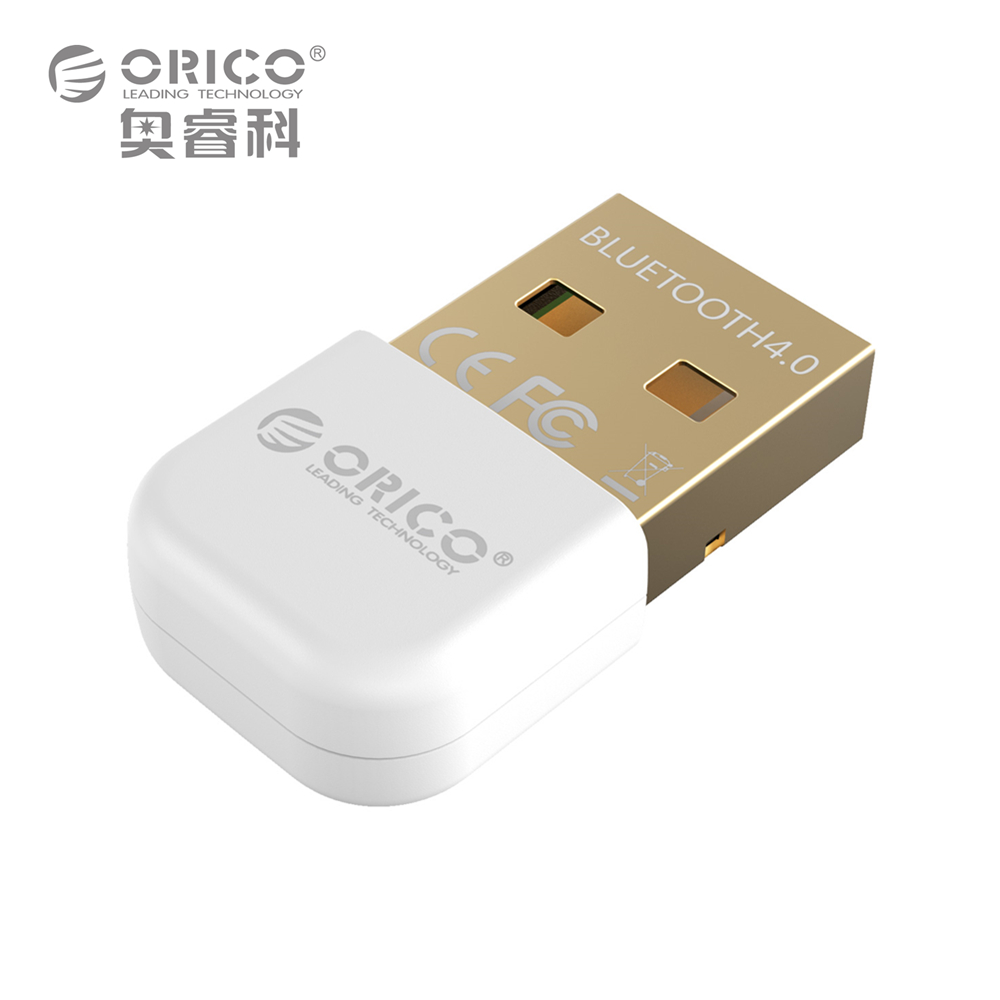 ORICO BTA-403-WH Mini Bluetooth 4.0 Adapter Support Windows8/Windows 7/ Vista/XP-White