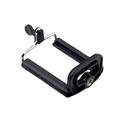 Aluminum Mobile Cell Phone Holder Mount Bracket Adapter Clip Self bar Selfie Stick Monopod Clip For