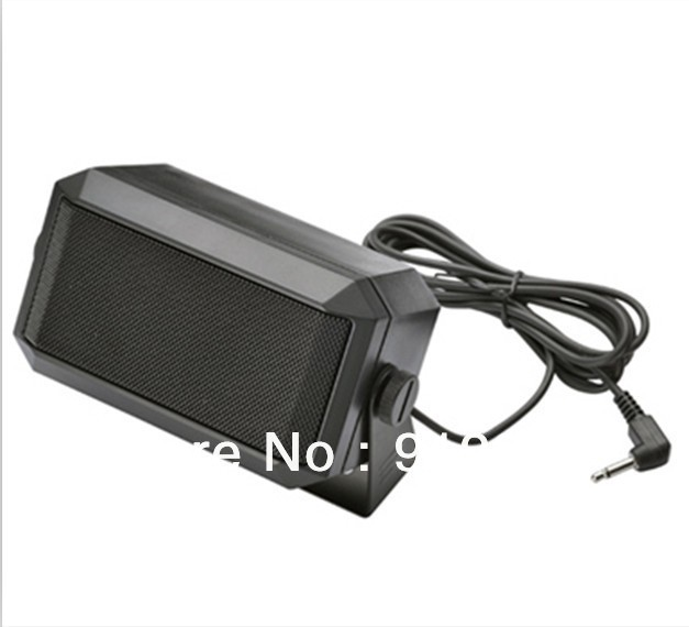 Hot Sale Mini Fashion Ham CB speakers Car GPS External Loudspeaker Factory Directl Supplier Voice Booster 10 PCS /Lot(China (Mainland))