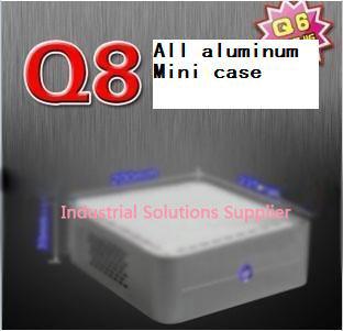 Q8 mini-itx itx hd host small computer case htpc aluminum computer case computer case fan(China (Mainland))