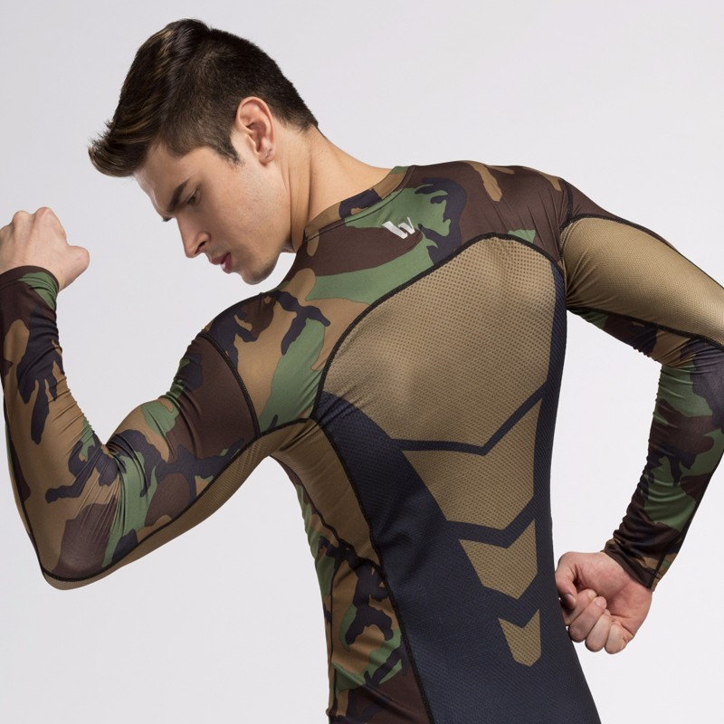 Gym-Clothing-Camouflage-Men-Compression-tshirt-Full-Sleeves-Sport-Base-Layer-Clothes-Fitness-Bodybuilding-T-shirt