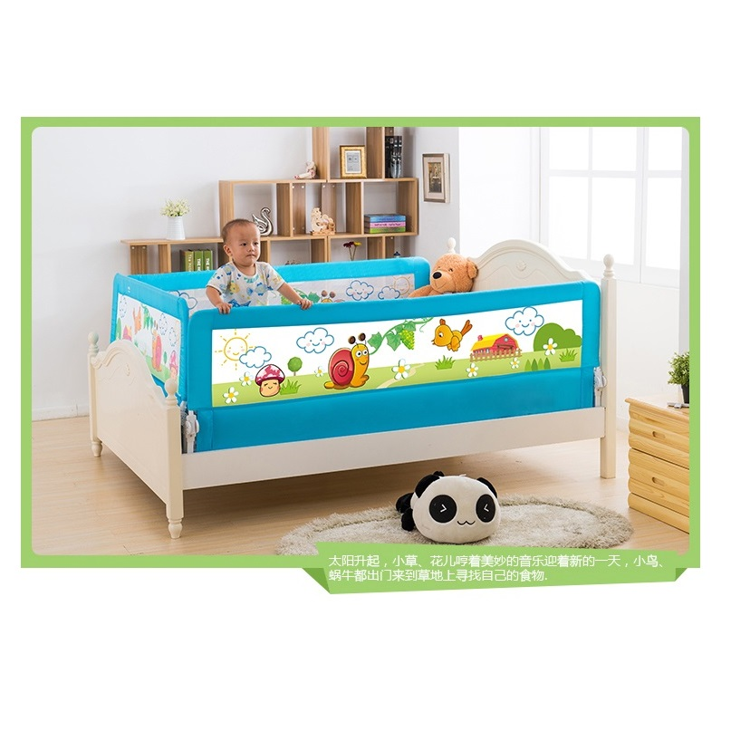 120cm Lovely Design Toddler Bed Rail Safety Bed Guard In