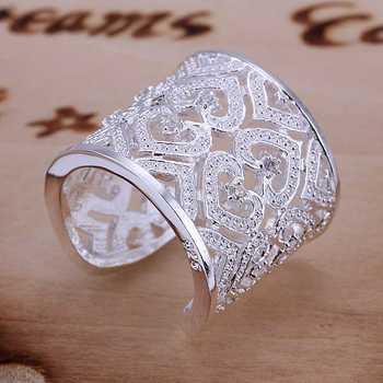 Потерять деньги! 925 серебро кольцо, 925 серебро ювелирные изделия, Вставки много ...