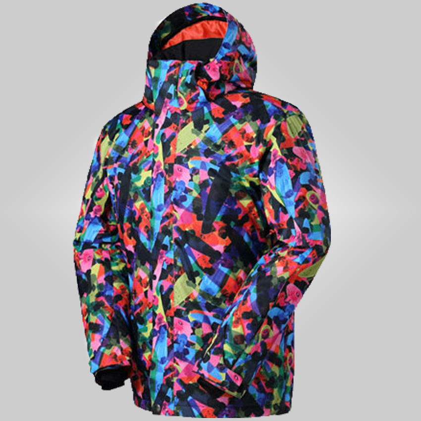 free shipping 2015 new snowboard 1 piece ski suit warm windproof and waterproof ski suit men's jacket clothes S-XL 458(China (Mainland))