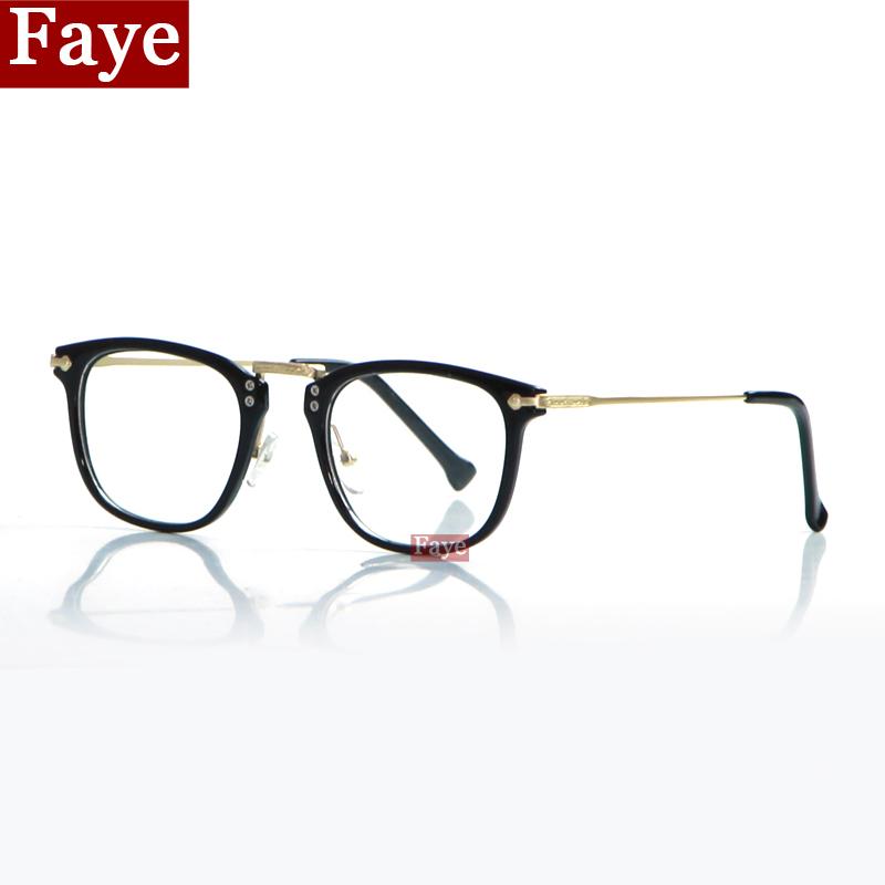 Hot 2016 fashion retro women eyeglasses decorative pattern Vintage large square frame men eye glasses Eyewear Frames oculos S259(China (Mainland))