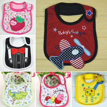 high quality Baby bibs Burp Cloths cartoon font b Feeding b font towels Waterproof cotton infant
