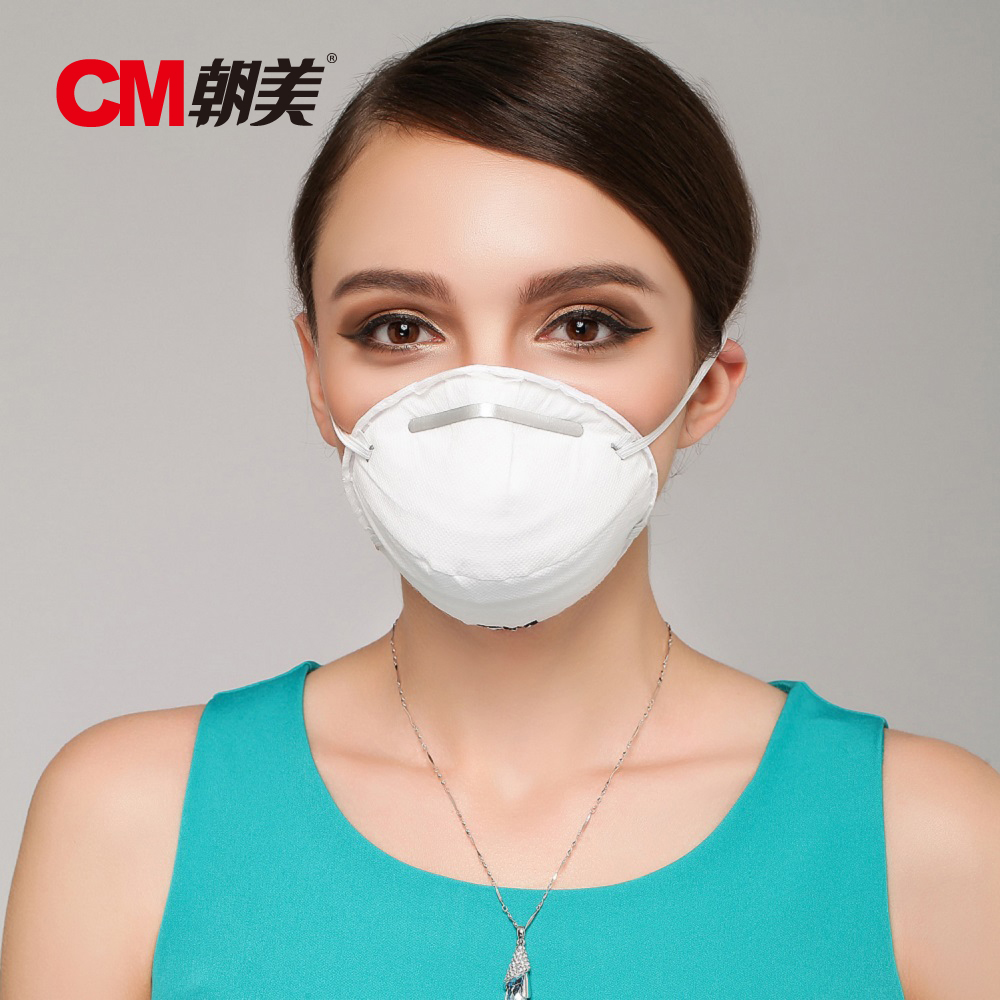 10pcs Fashion New Dust Face Mask Breathing Valve Filter Mouth Disposable Non-toxic Comfortable White Masks(China (Mainland))