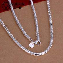 N012 Fashion Men Jewelry Silver Jewelry Necklace Pendants Choker Vintage Statement Chain collar Wedding Accessories