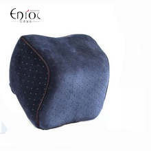 1pc Velvet Car Head Pillow Space Memory Foam Pillow Comfortable Car Pillow Head pillow Free shipping Wholesale and retail R-011(China (Mainland))