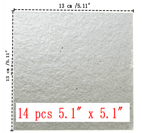 14pcs/lot  Microwave Oven Mica Plate Sheet Thick Replace Part 13 cm x 13 cm / 5.11 x 5.11<br><br>Aliexpress