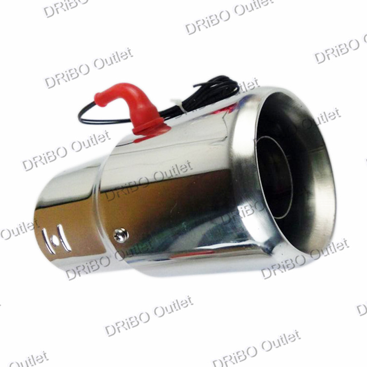 Universal Car Stainless Steel Spray Device Light Tail Throat LED modified exhaust flame spray light modulator/muffler tip pipe<br><br>Aliexpress
