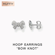 Bows Stud Earrings,Thomas Type Glam And Soul Good Jewerly For Girls,2015 Ts Reward In 925 Sterling Silver,Tremendous Offers