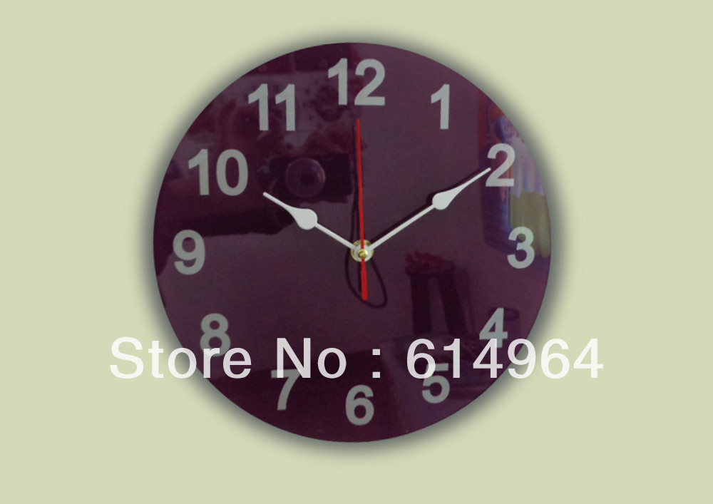 New style Whole sale wall clock for Round shape 10 inch
