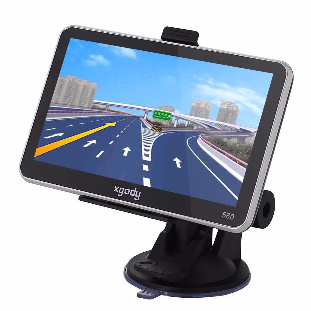 BRAND XGODY Cheap GPS Navigation Navigator 5 4gb GPS Android Navigator SAT NAV Europe Map US AND UK STOCK(China (Mainland))
