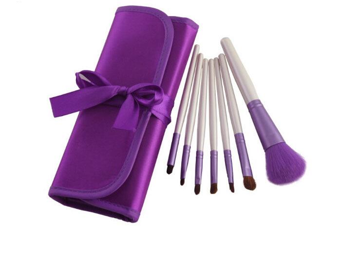 Кисти для макияжа Unbranded 7Pcs Maquiagem Maquiagem Pincel + brush05-7pcs инструменты для макияжа unbranded makeup brush