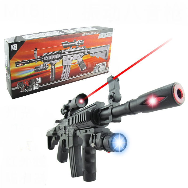 Guns For Boys Christmas Toys : Nerf guns with flashing night light collimator toy