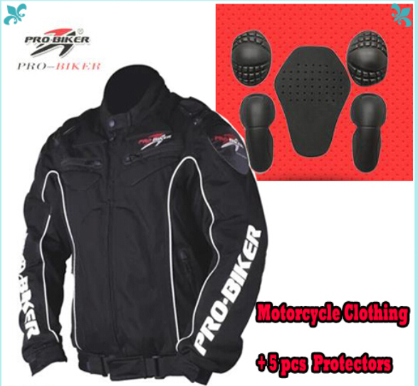 Suzuki Style Motorcycle Jackets Motorbike Racing Jacket With Elbow&Shoulder Protective Pads Pro-biker JK08(China (Mainland))