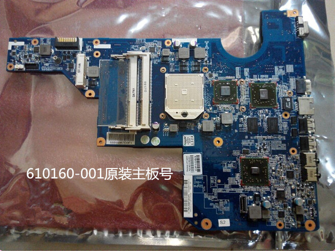 610161-001 610160-001 For HP LAPTOP CQ42 G62 CQ62 G72 series motherboard mainboard system board Fully work & 100% Tested(China (Mainland))