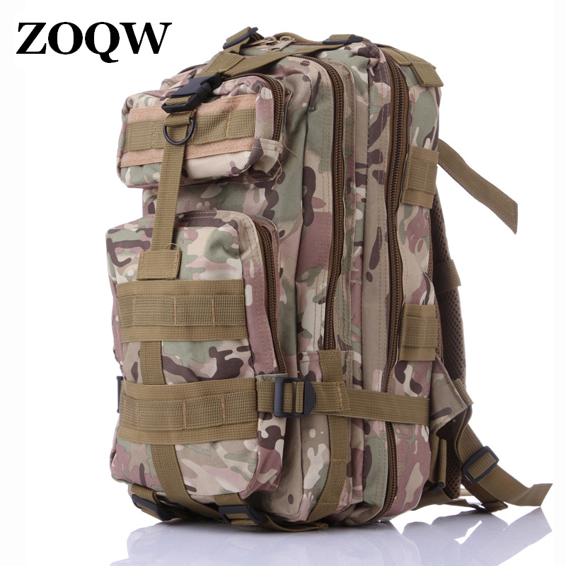 3P Military Backpack Men Sack Waterproof Bag Camouflage Printing Backpack Cheap Backpacks Mochila Mujer Army Green Bags WUJ1242(China (Mainland))