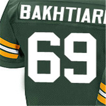 100% Stitched With Customized #53 Nick #56 Julius #64 Mike #65 Lane #66 Ray #67 Don #69 David Elite Green Jersey(China (Mainland))