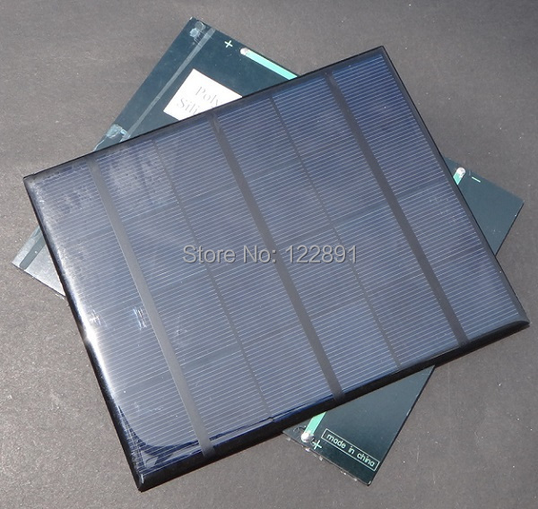 New 3.5W 6V Min Solar Cell Solar Panel Solar Module Diy Solar Charger System 165*135*3MM Wholesale 100pcs/lot High Quality(China (Mainland))