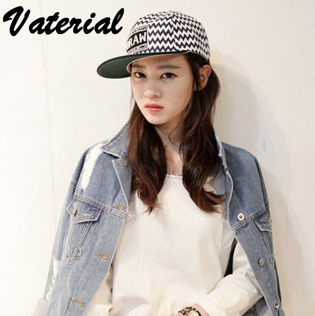 Korea official website new tidal male female wave fringe flat along hip hop baseball hat VA0053(China (Mainland))