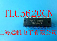 Free shipping Data Acquisition - Analog to Digital TLC5620CN United States TI's new imported original chip IC(China (Mainland))
