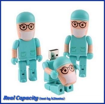 free shipping plastic cartoon pen drive dentist usb flash drive pendrive medical gift 2gb 4gb 8gb 16gb 32gb usb stick