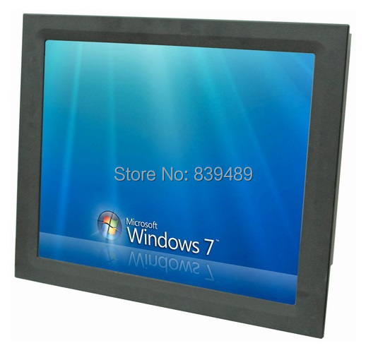 19 inch industrial touch screen panel PC, C1037U /1GB DDR3/16GB SSD, all in one computer, Economical Version For Sample Order(China (Mainland))