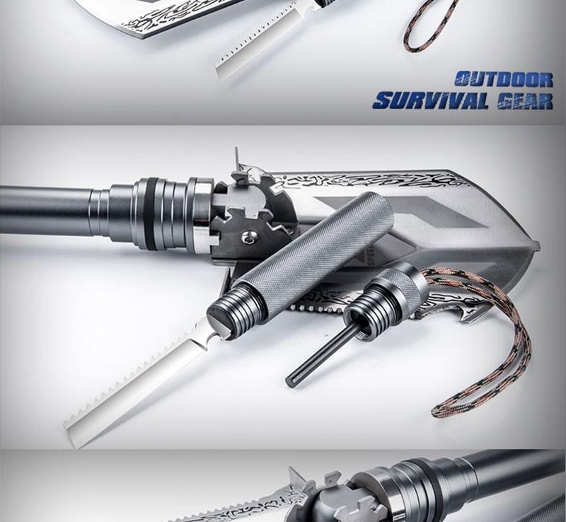 Buy Magic Steel shovel snow Tactical Multifunction Camp Shovel Outdoor Survival Folding Shovel Sapper Shovels Hunting knife Axe cheap