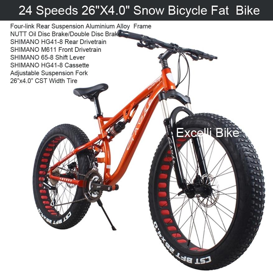 buy 24 27 speeds 26x4 0 fat tire snow bicicleta mountain bike26 beach bike fat. Black Bedroom Furniture Sets. Home Design Ideas