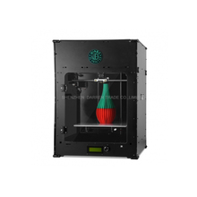 Free shipping DHL 3D printer mini 3D printing machine three-dimensional USB port LAN port Pla ABS material LED screen Big coo