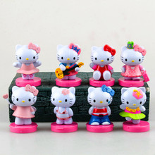 new New Hello Kitty Anime Action Figure Cute Doll Kids Toys Figurine Birthday Gift Hot Toys Mother's Day gift